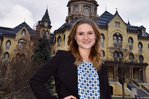 For anthropology major Grace Garvey, exploring other disciplines is key to research success