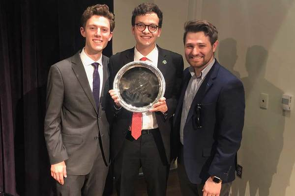 Notre Dame team wins ACC Debate Championship