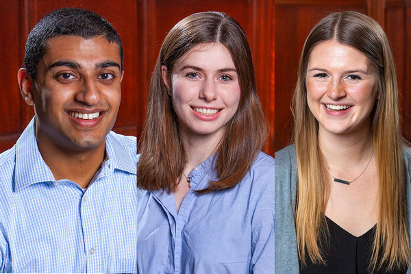 Neuroscience majors prepare for careers in law and medicine through senior thesis research on a wide range of issues
